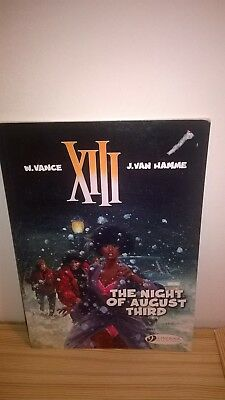 The Night of August Third XIII Cinebook Comic Book