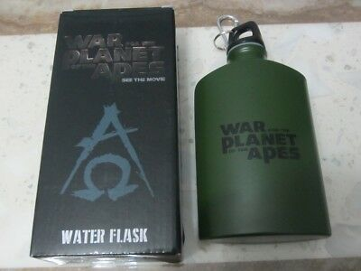 War for the Planet of the Apes 2017 Water Drink Flask Bottle Genuine Movie Promo