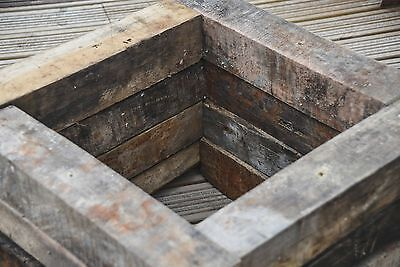 Reclaimed Hardwood Garden Planter