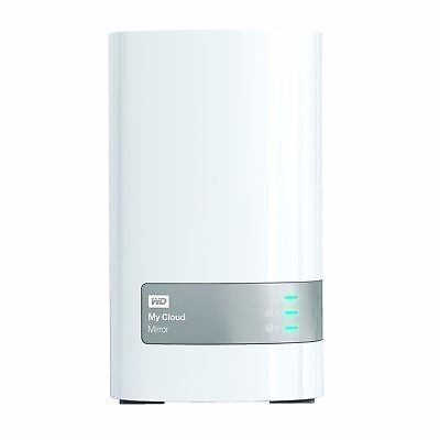 WD 4TB My Cloud Mirror Gen 2 Personal Cloud Storage NAS Drive in White **..**