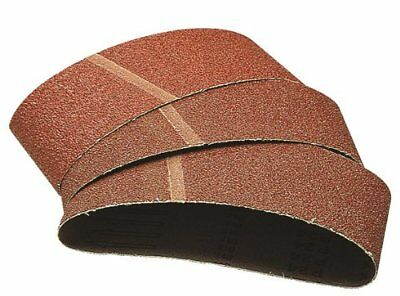Wolfcraft 1715000 40 x 303mm Sanding Belts with 60-Grit