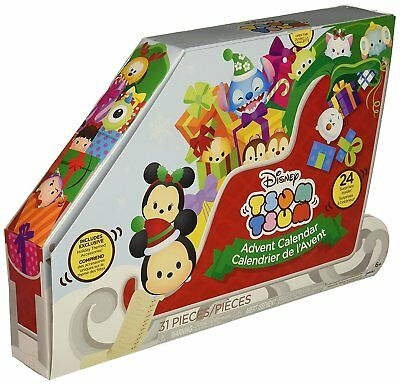 Disney Tsum Tsum Countdown to Christmas Advent Calendar Playset - Fast Delivery