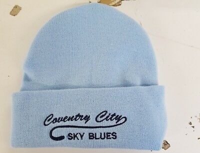 Coventry City woolly HAT Beanie hat The Sky Blues