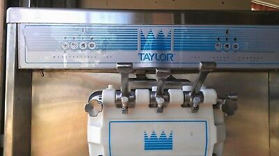 Taylor 794-27 Soft Serve Twin Twist Ice Cream Machine Water Cooled Single Phase