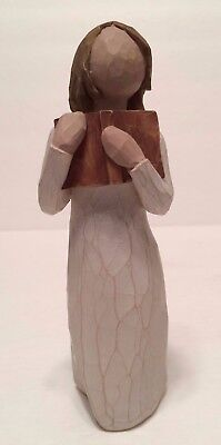 Willow Tree Love Of Learning Figurine Book Lover Susan Lordi Demdaco Dated 2005