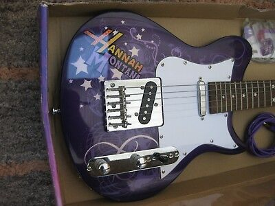 Hannah Montana Disney By Washburn Secret Star 3/4 Electric Guitar & accessories