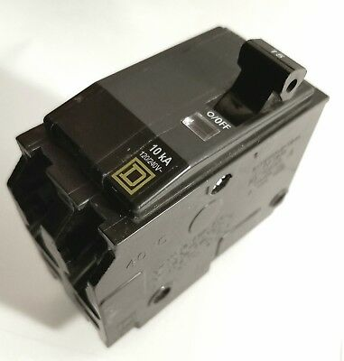 HomeLine Plug-on 15Amp Circuit Breaker Square D by Schneider Electric