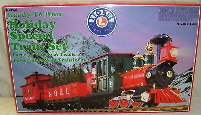 Lionel 8-81029 Holliday Special Train Set   New