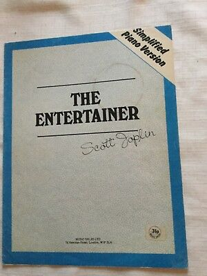 Scott Joplin The Entertainer sheet music