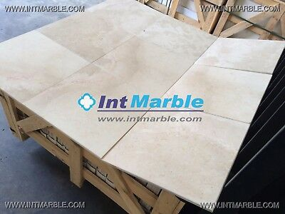 Marble Tiles, Crema Marfil Ivory Honed, Marble Floor / Wall Tiles, 406x406x12mm