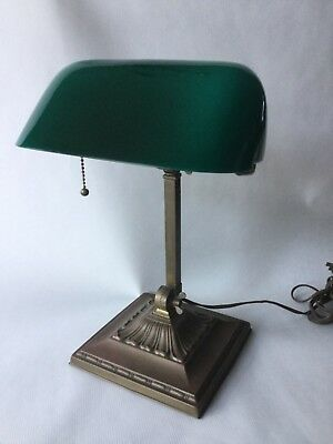 Emeralite 8734 Bankers Library or Students Lamp 1916-1930