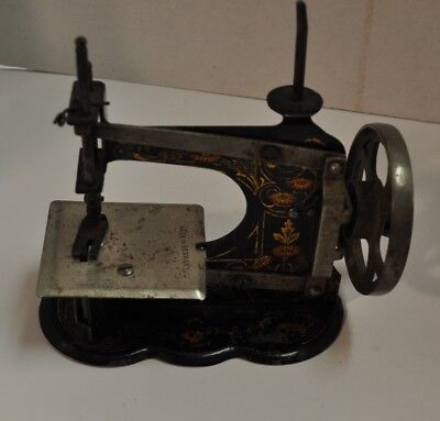 Antique miniature sewing machine, made in Germany