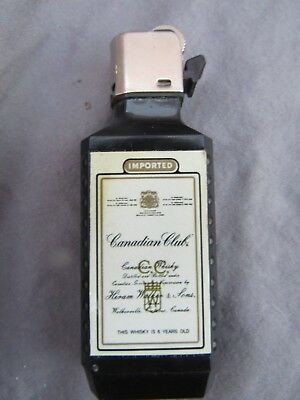 Canadian Club Canadian Whiskey – Promotional Lighter – Sparks Only
