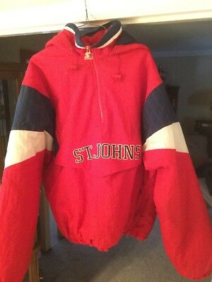 Vintage Starter St. johns University Red Storm/redden Jacket XXl
