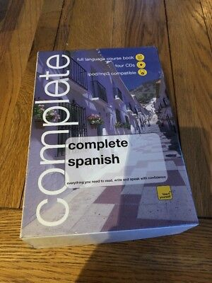 Whsmith teach yourself complete spanish book4 cd pack audio book whsmith teach yourself complete spanish book4 cd pack audio book solutioingenieria Choice Image