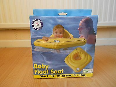 Perfectly Happy People Yellow Swim Floatseat - Size 2, 12 – 24 months, 11 – 15kg