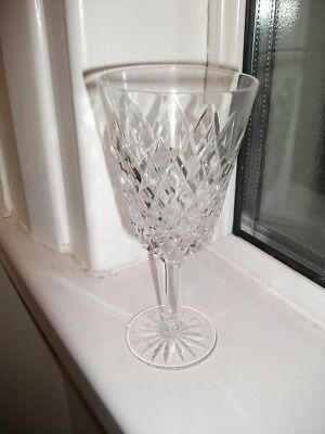 Tyrone Crystal Cut Glass Sperrins Red Wine Glass