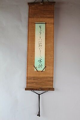 """Free shipping"" Japanese hanging Handpainted on Paper  ""CALLIGRAPHY"""