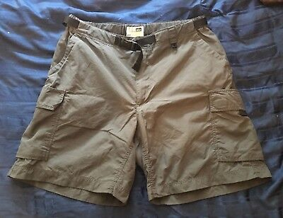 REI Women's Size 12 Belted Nylon Shorts Charcoal New Without Tags