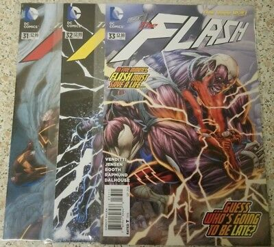 Dc New 52 The Flash(2014) #31-33