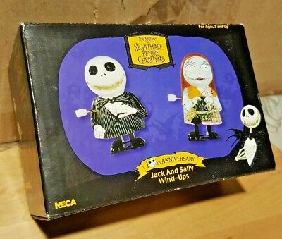 The Nightmare before Christmas Jack and Sally Wind-ups