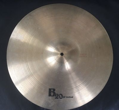 """SABIAN by Tosco 18"""" Crash/ Ride - Vintage B20 from Italian master cymbal smiths"""