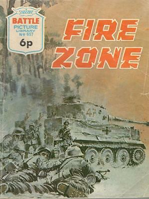 1972  No 657 38497 Battle  Picture Library  FIRE ZONE