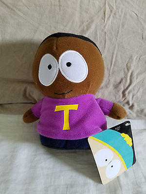 Token Black Character South Park 7 Inch Stuffed Plush Doll