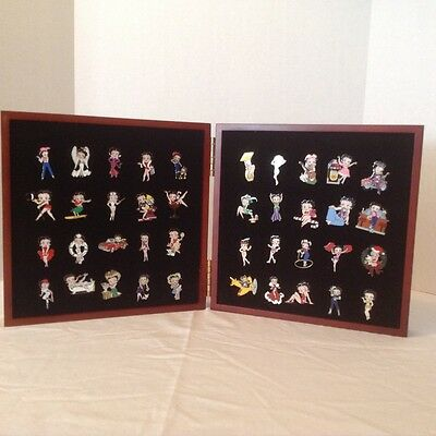 Willabee Ward Betty Boop Pin Collection