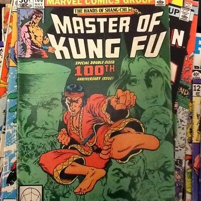Master of Kung Fu #100 Marvel Comics Double sized Anniversary issue