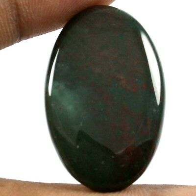 24.60 cts 100% Natural Excellent Quality Bloodstone Oval Loose Cabochon Gemstone