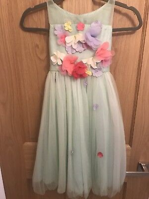 Monsoon Girls Party  Dress Size 8 Y