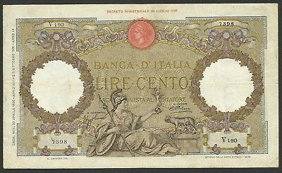 Italy Pick55 100 Lire in used condition (rb)