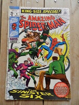 Amazing Spider-Man King-Size Special No 6 November 1969