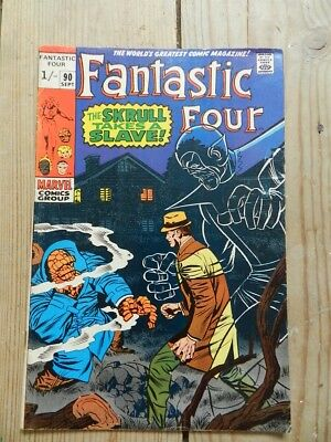 Fantastic Four #90 September 1969