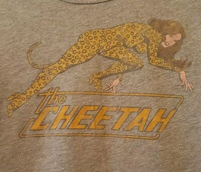 vintage retro t shirt cheetah leopard print junk food urban outfitters cool ace