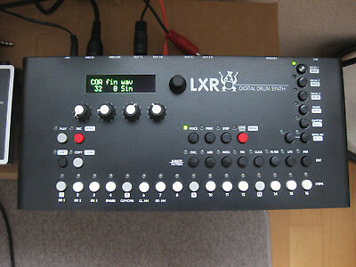 Sonic-Potions LXR Drumsynthesizer- LXR Metall housing & Trigger I/O' s