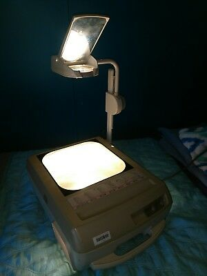 Apollo Portable Overhead Projector Concept 2283 Folds Works Great