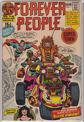 Forever People #1 - #11 - 1st Darkseid (Full Appearance) - DC 1971 - F++