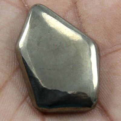 47.25 cts Natural Beautiful Golden Pyrite Gemstone Fancy Shape Loose Cabochon