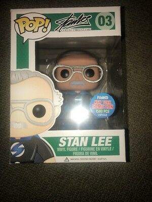 Pop! Funko NYCC LE1500 2015 Comikaze exc Stan Lee #03 Superhero