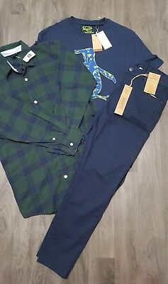BOYS NEW CLOTHING BUNDLE AGE 12-13 Yrs SHIRT,JEANS,TOP,GAP,PENGUIN,OUTFIT,NEW