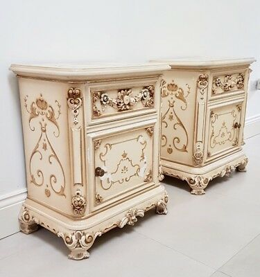 Italian Bedside Cabinets / Tables