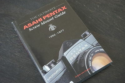 The Ultimate Asahi Pentax screw mount guide, VERY RARE! book in MINT! condition