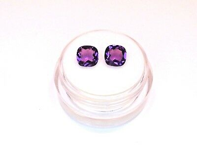Sale Matched Pair of Natural Amethyst from scrap gold silver vintage jewelry
