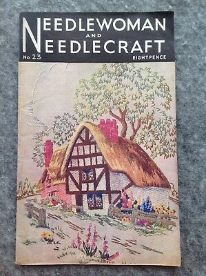 Needlewoman And Needlecraft Magazine No.23 July 1945