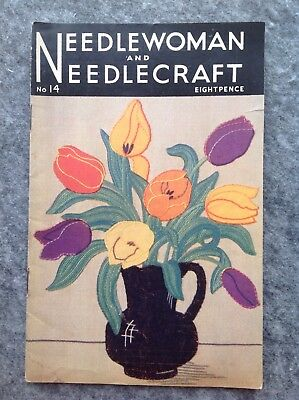 Needlewoman And Needlecraft Magazine  No.14 April 1943