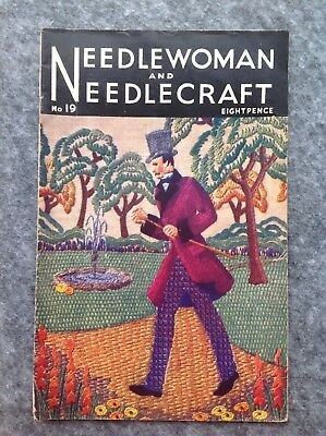 Needlewoman And Needlecraft Magazine No.19 July 1944