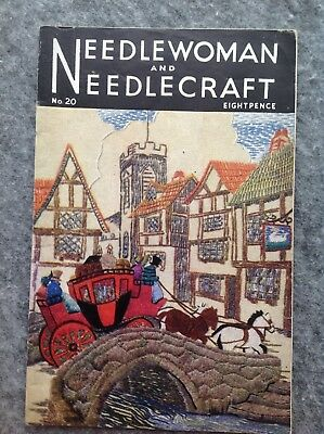 Needlewoman And Needlecraft Magazine No.20 October 1944