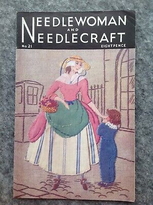 Needlewoman And Needlecraft Magazine No.21 January 1945
